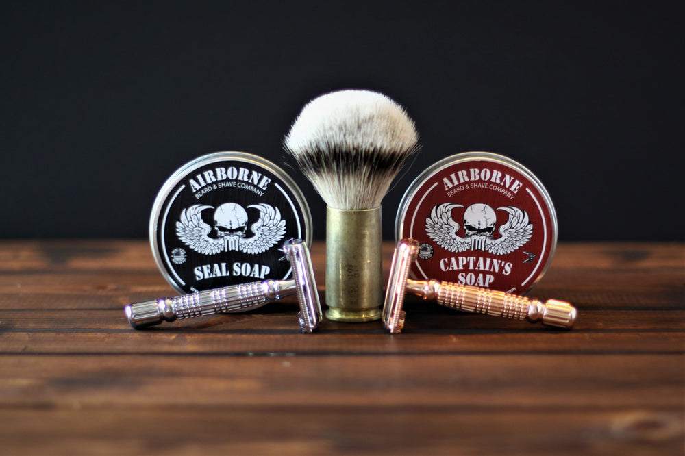 Sergeant Shave Kit - Airborne Beard and Shave Company