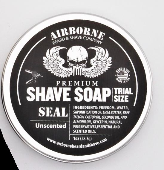 Trial Size Shave Soap - Airborne Beard and Shave Company