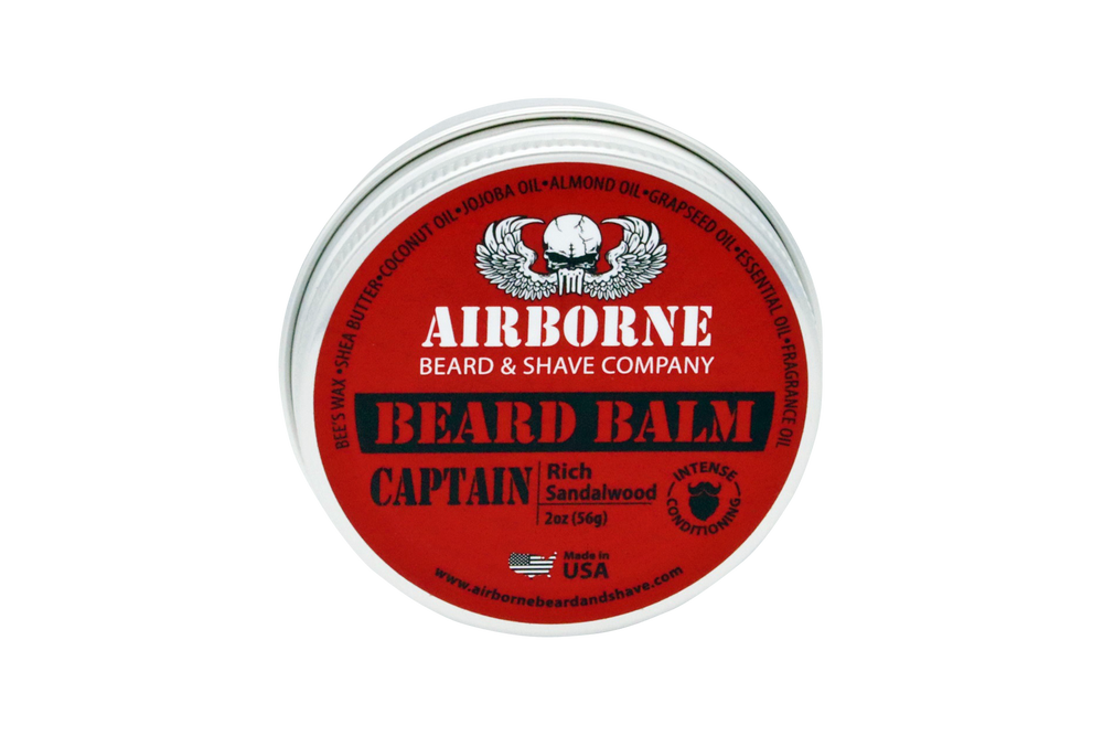 Captain Beard Balm - Airborne Beard and Shave Company