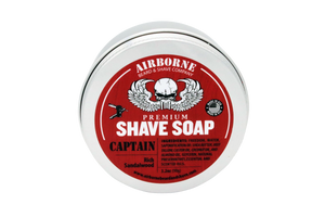Captain Shave Soap - Airborne Beard and Shave Company