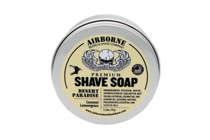 Desert Paradise Shave Soap - Airborne Beard and Shave Company