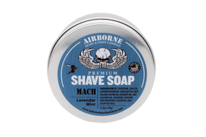 Mach Shave Soap - Airborne Beard and Shave Company