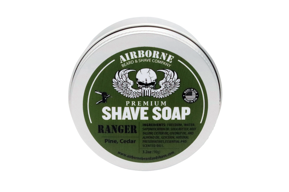 Ranger Shave Soap - Airborne Beard and Shave Company