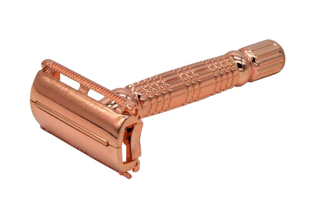 Copper Butterfly Safety Razor