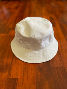 Catch Flights Pastel White Lavender Bucket Hat