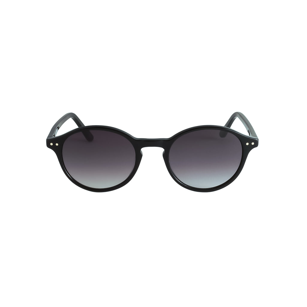 Black with Grey Gradient Lenses