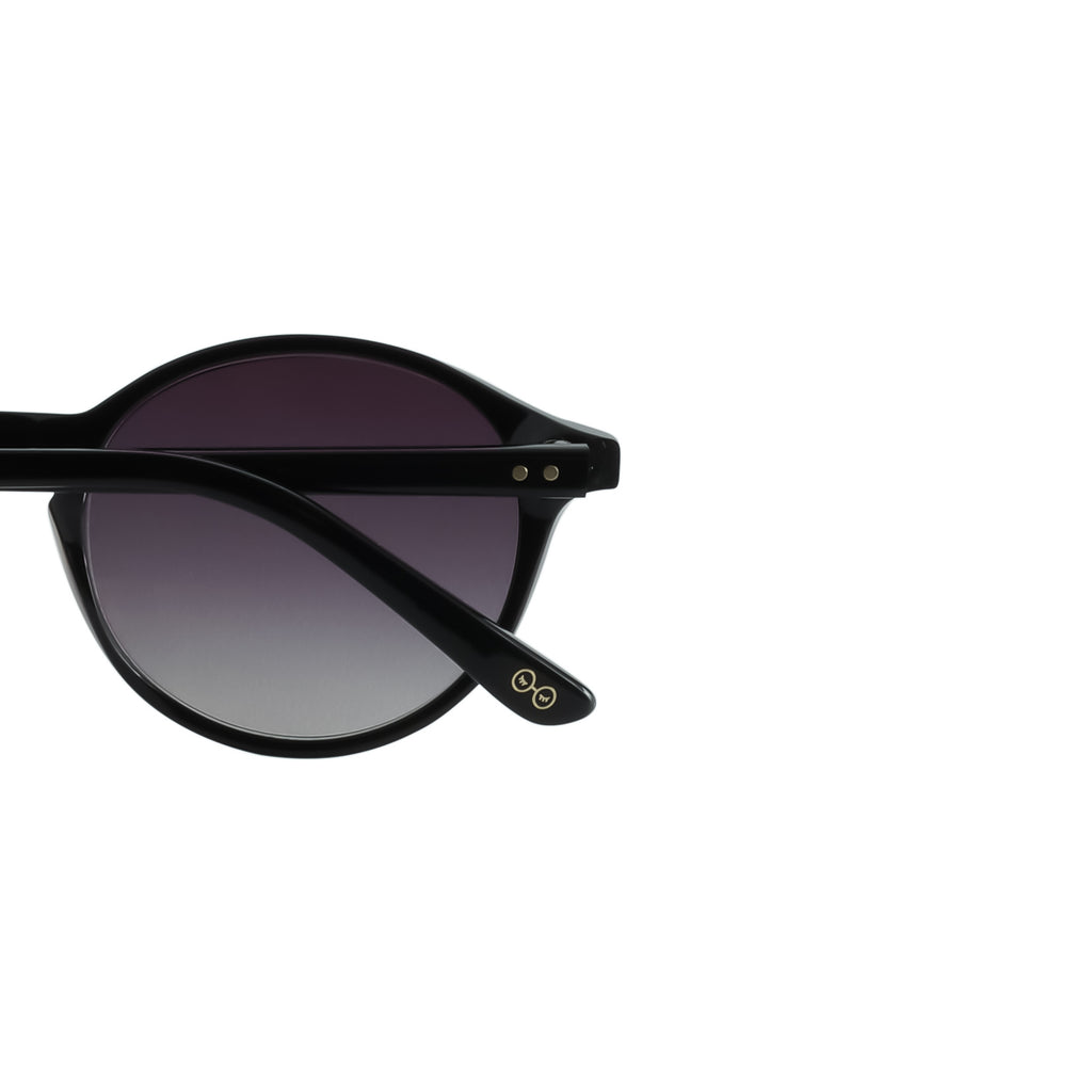 Callula Co. petite sunglasses back view