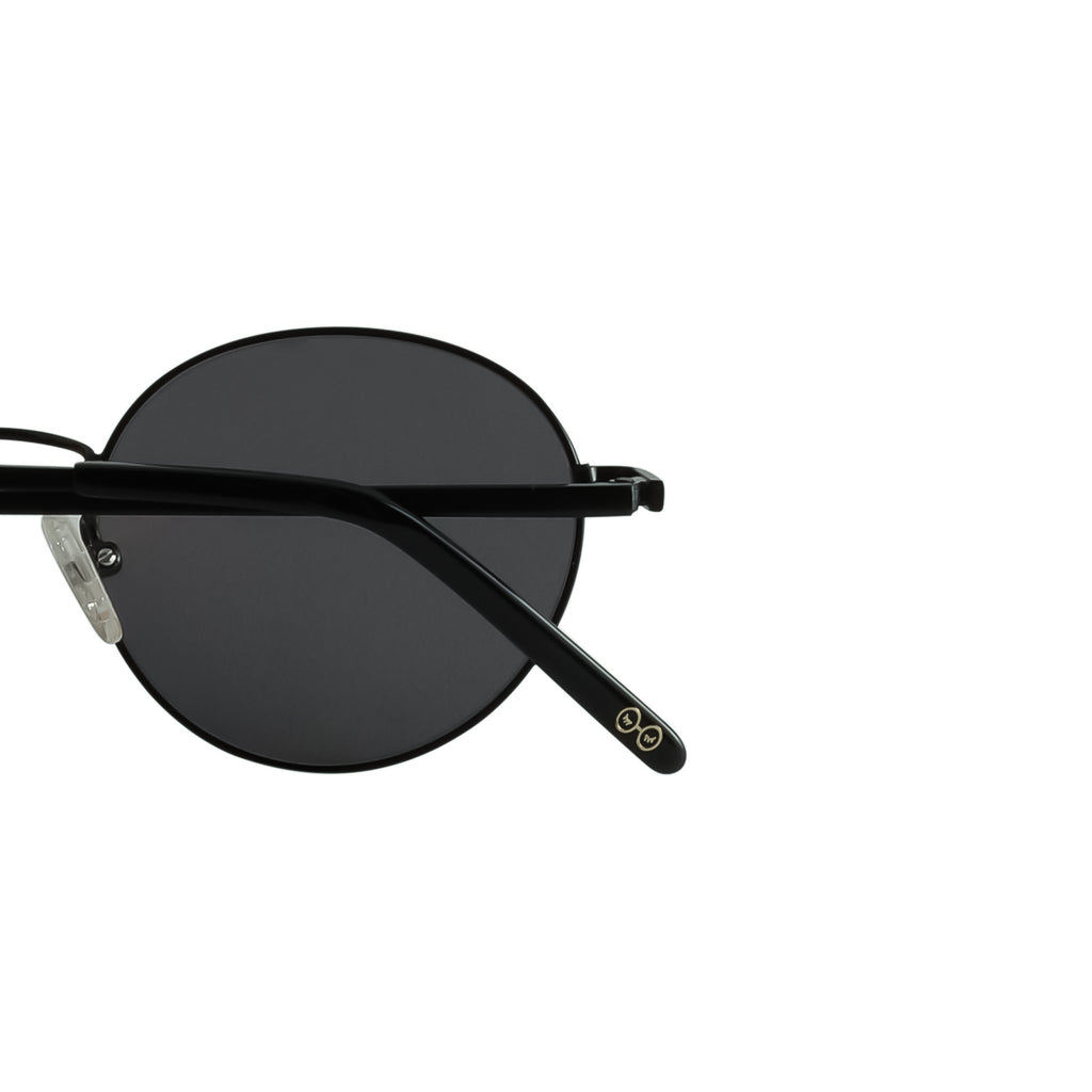 Black with Grey Reflective Lenses