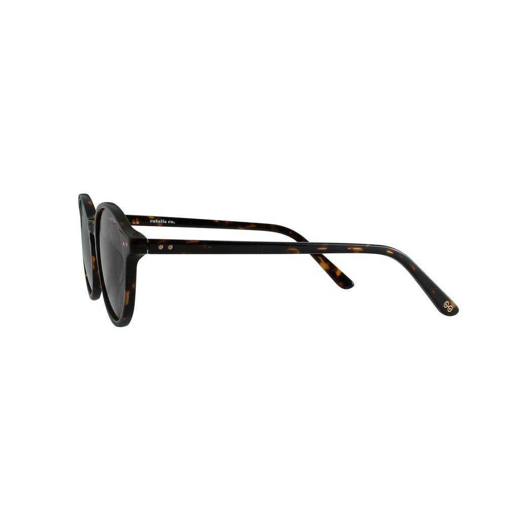 Callula Co. classic petite sunglasses side view