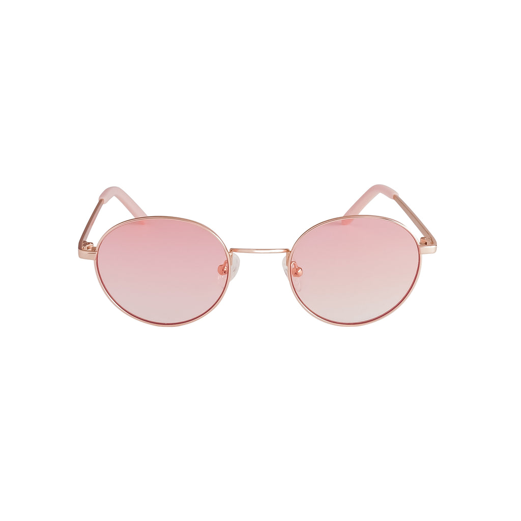 Gold with Rosy Pink Gradient Lenses