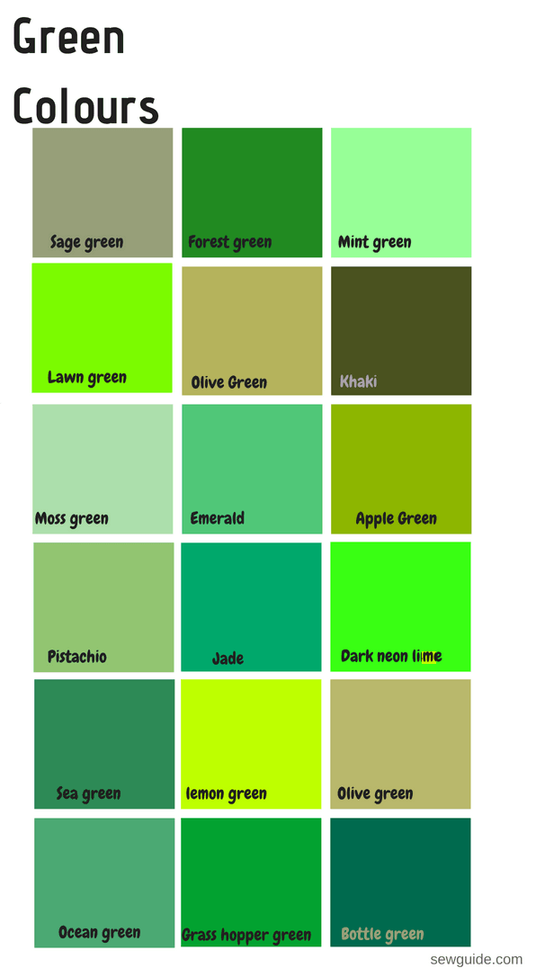 Color Stroy - GREEN