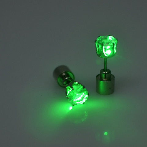 LED STUD EARRINGS (AMBASSADOR) - Official Raveology