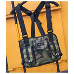 """HGUL+BAG"" CHEST RIG (2 Colors) - Official Raveology"