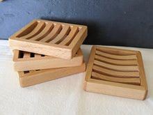Load image into Gallery viewer, Deluxe Wooden Soap Dish