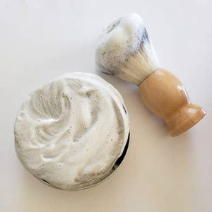 Shave Soap, pine & cedar (in tin)