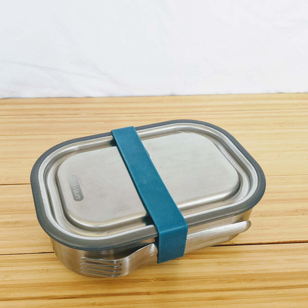 Black+Blum Stainless Steel Lunch Box, Large