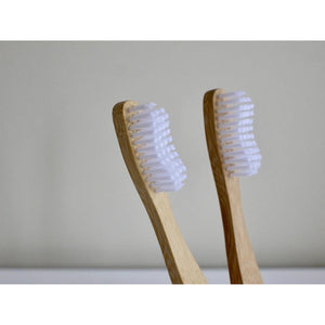 Bamboo Toothbrushes, 4-pack