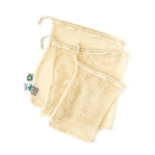 Cotton Muslin or Mesh Bag