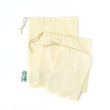 Load image into Gallery viewer, Cotton Muslin or Mesh Produce Bag