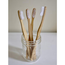Load image into Gallery viewer, Bamboo Toothbrushes, 4-pack