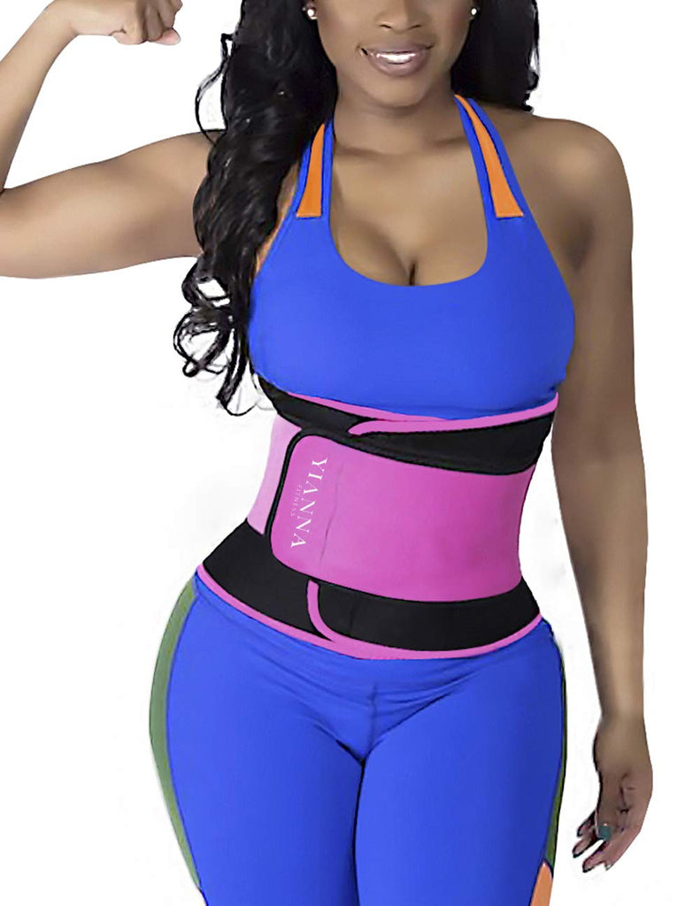 yianna waist trainer with the shopify logo