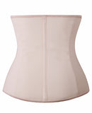 YIANNA Zipper & Hook Latex Waist Trainer Corsets for Women Weight Loss Training Cincher Hourglass Shaper