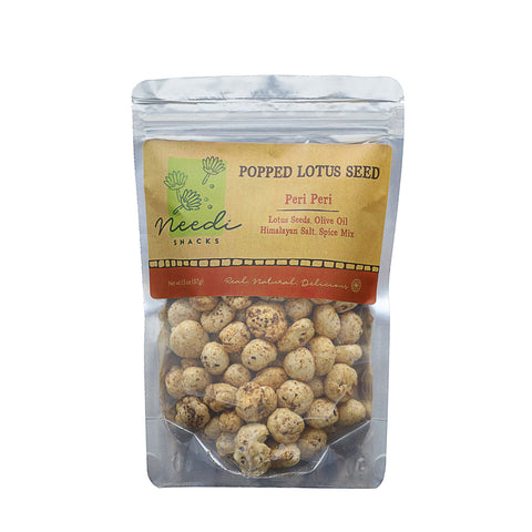 Popped Lotus Seeds - Peri Peri (pack of 4)
