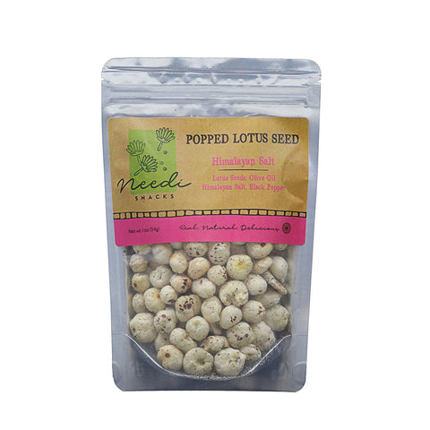 Popped Lotus Seeds - Himalayan Salt (pack of 4)