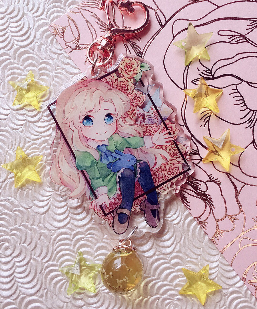 Ib Charms-Charm-Ibble's Scribbles-Mary (Yellow)-Ibble's Scribbles-charm-pastel-kawaii-cute