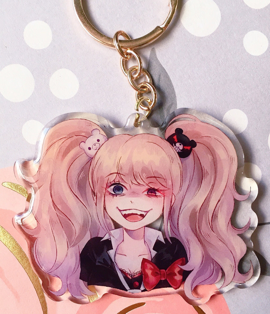 Danganronpa Despair Expression Charms-Charm-Ibble's Scribbles-Kokichi-Ibble's Scribbles-charm-pastel-kawaii-cute