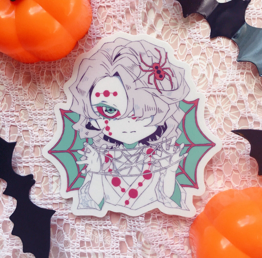 Kimetsu no Yaiba Halloween Vinyl Stickers
