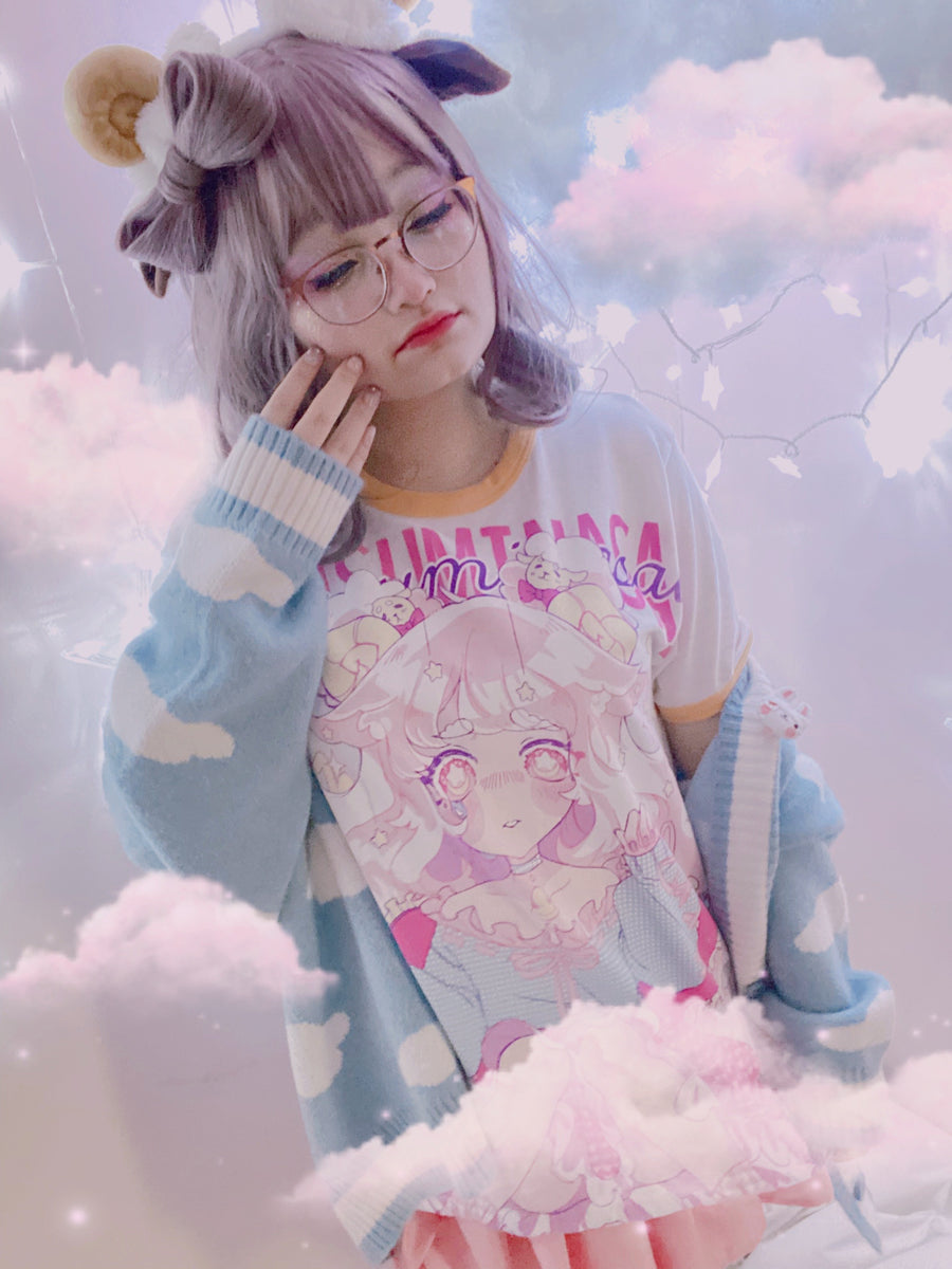 Oyasuminasai ☆Counting Sheep☆ Ringer Tee