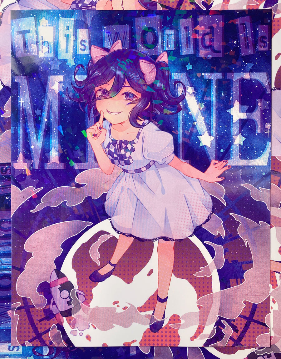 This World Is Mine Kokichi Print (HOLOGRAPHIC)