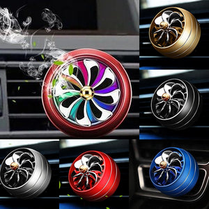 AIRPLANE ENGINE CAR AIR FRESHENER WITH LED