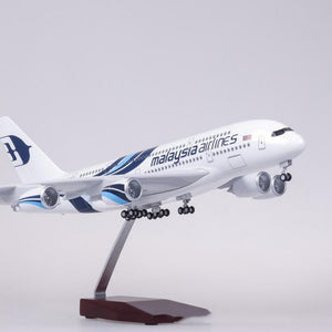 Malaysia Airlines Airbus A380 Resin Model - 1:160 scale