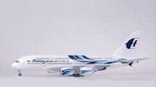 Load image into Gallery viewer, Malaysia Airlines Airbus A380 Resin Model - 1:160 scale
