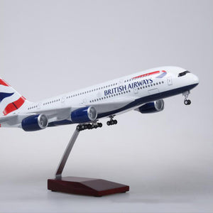 British Airways Airbus A380 Resin Model - 1:160 scale