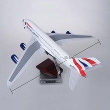 Load image into Gallery viewer, British Airways Airbus A380 Resin Model - 1:160 scale