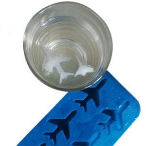 AIRPLANE SHAPED ICE CUBE MOLD