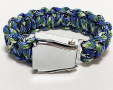 Load image into Gallery viewer, HIGH QUALITY AIRPLANE SEAT BELT (MULTI-COLOR) DESIGNED BRACELET