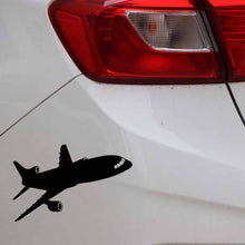 Load image into Gallery viewer, Airplane Car Sticker