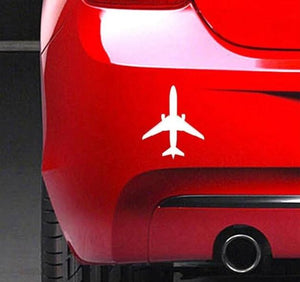 Airplane Car Sticker