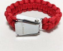 Load image into Gallery viewer, Seat Belt Bracelet RED