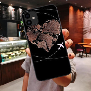 World Map Case iPhone