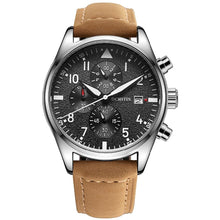 Load image into Gallery viewer, Luxury Aviator Watch