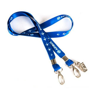 Airbus Lanyard Blue Ribbon