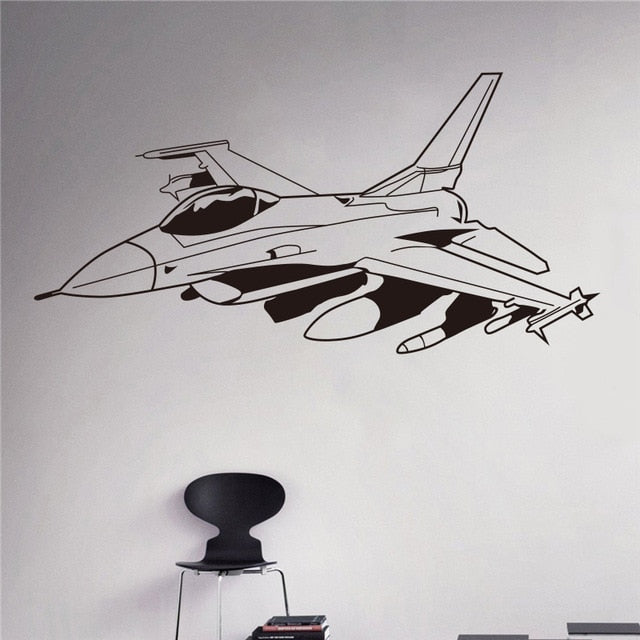 Military Aviation Wall Sticker