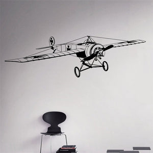 Airplane Wall Sticker