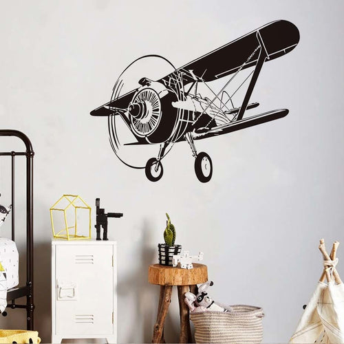 Military Airplane Wall Sticker