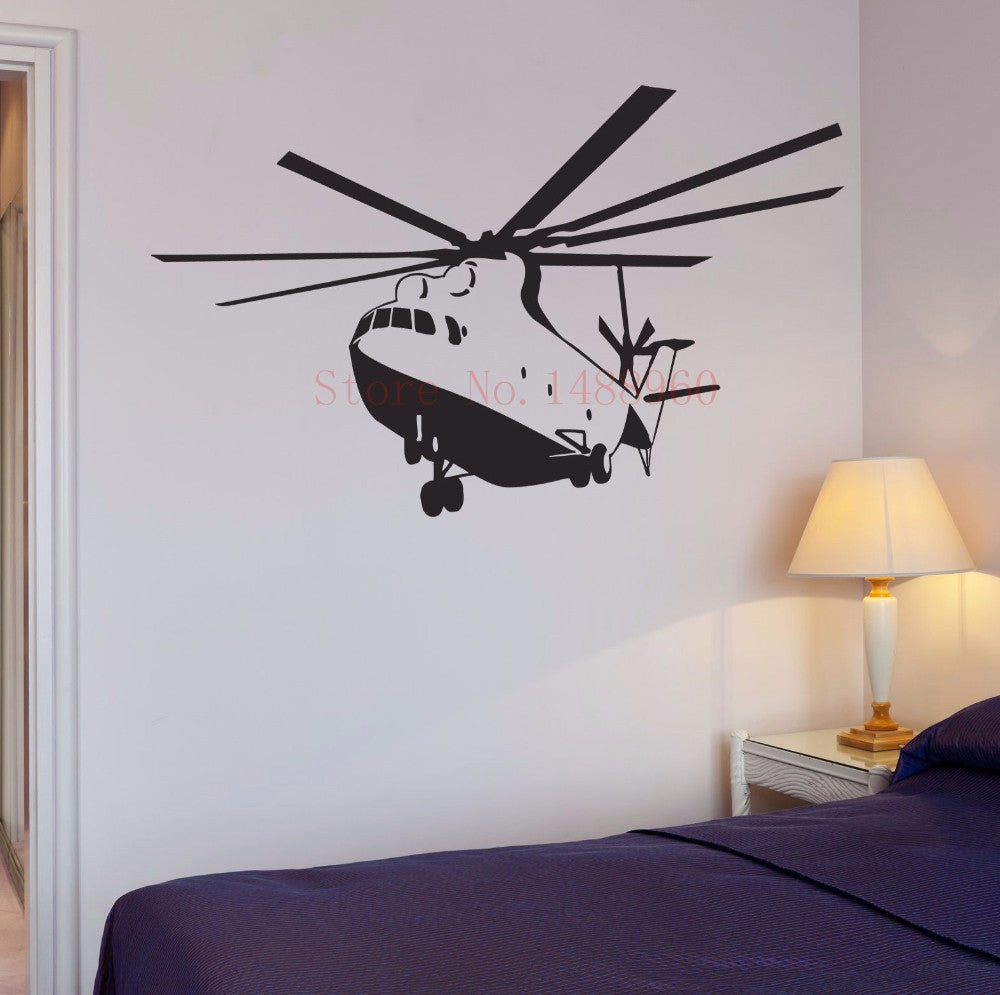 Helicopter Wall Sticker